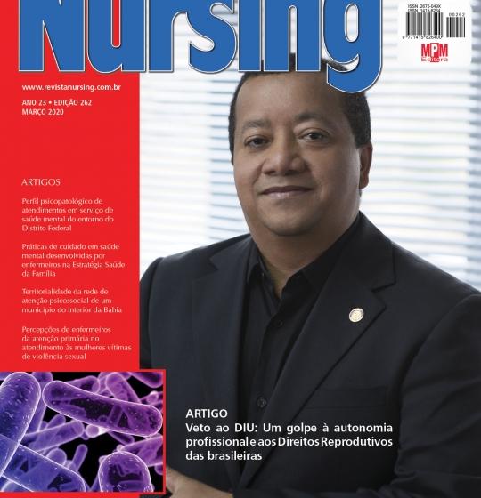 Professores ; Fabiana Rezer, Thiago Machado Pereira e Wladimir Rodrigues Faustino, publicam artigo científico na revista Nursing, com indexação Nacional  e Internacional.