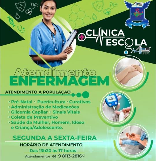 CLÍNICA DE ENFERMAGEM DA AJES